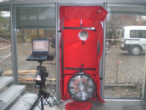 blower door test energieberatung. Black Bedroom Furniture Sets. Home Design Ideas